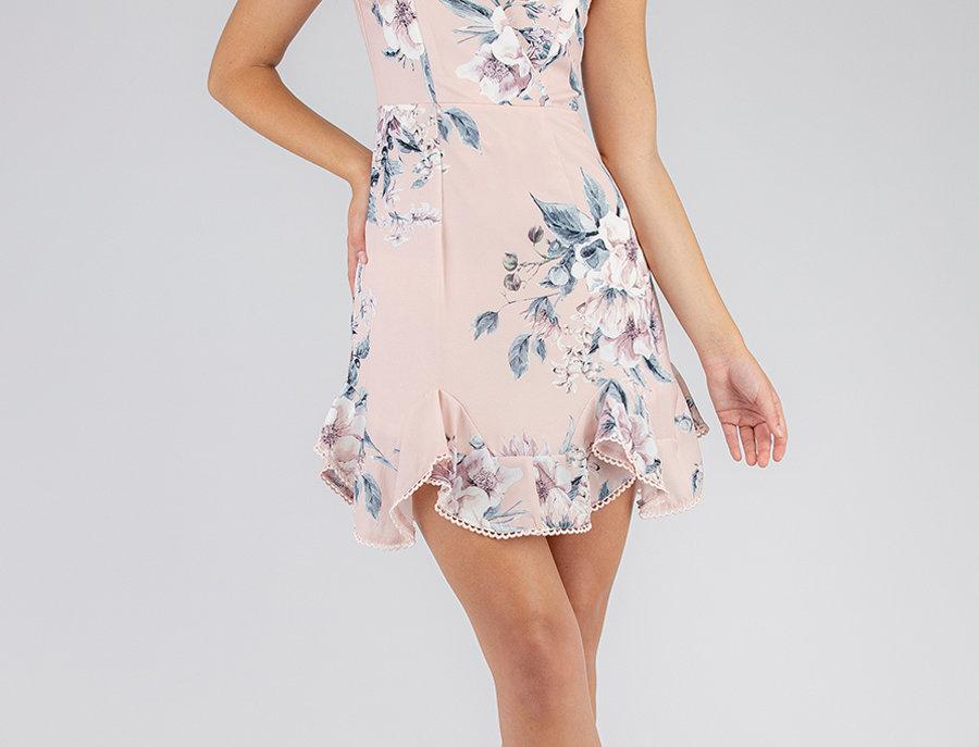 Olivia Dress in Blush