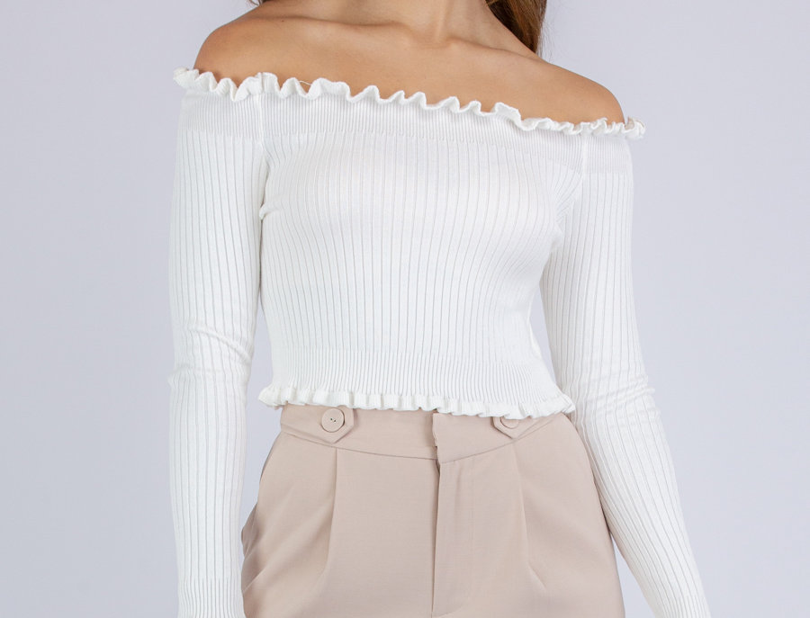 Electra Top in White