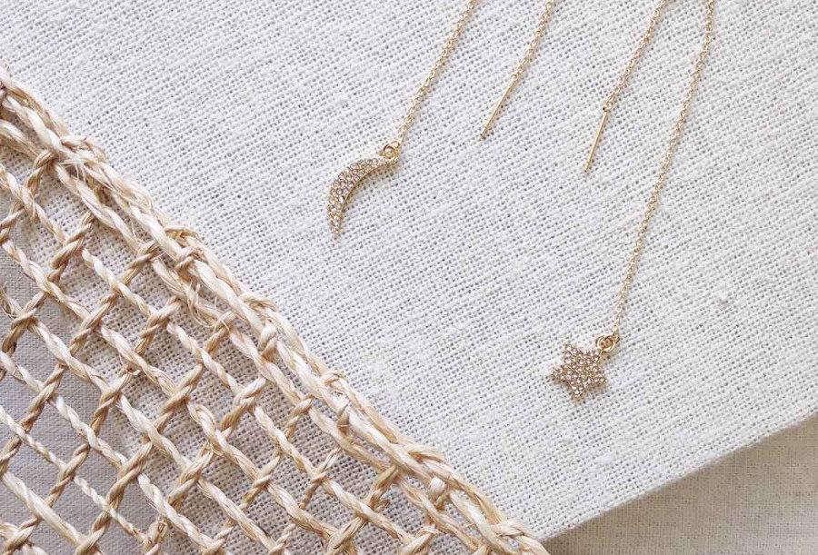 Anura Threader Earrings
