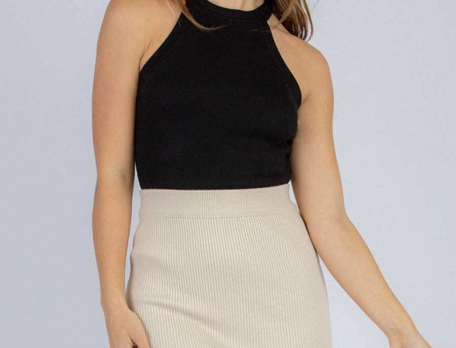 Avery Top in Black