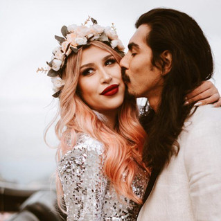 Glam-Rock-Engagement-Session-in-the-Fogg