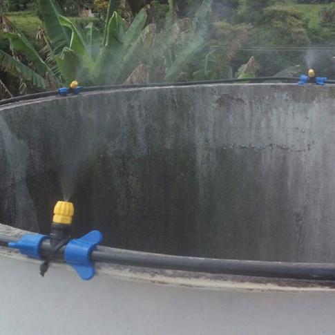 Controle de gases e odores em exaustão industrial