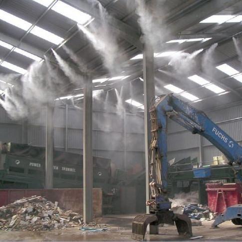 Controle de odores para resíduos sólidos