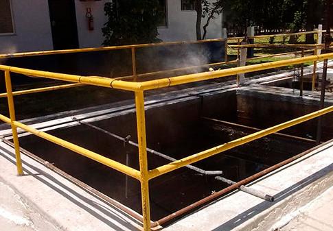 Controle de odores em estações de tratamento