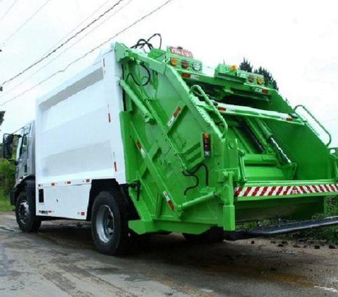 Controle de odores para caminhões de lixo