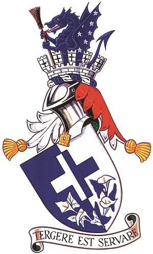 The coat of arms of the worshipful company of environmental cleaners