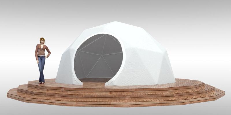 Геокупол 5 метров