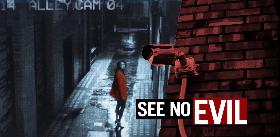 Woman-in-alley-with-CCTV