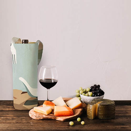 The fork wine bag