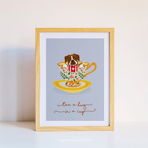 Swiss in a cup poster - 01