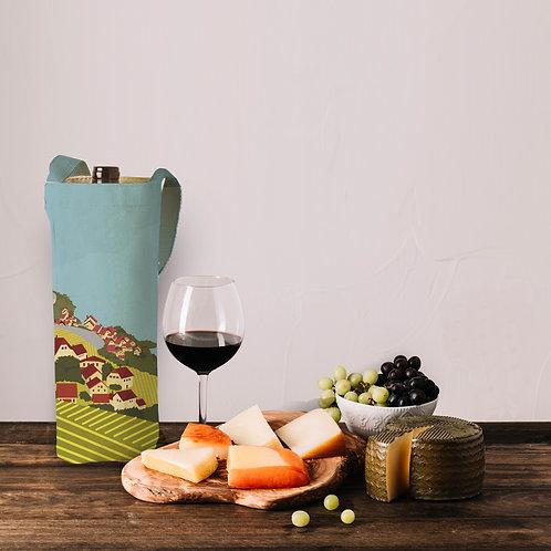 Lavaux vineyards wine bag