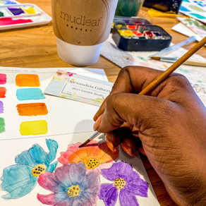 Intro to Watercolor with Alex's Garden