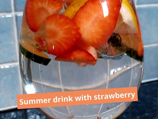 Strawberry water