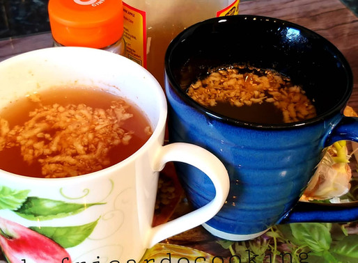 Cinnamon tea with garlic and ginger Chef Ricardo  Recipe