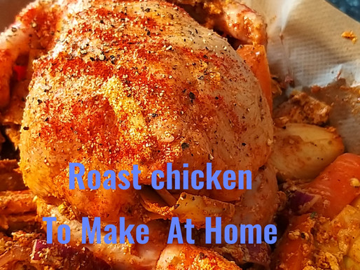Butter garlic honey roast chicken from chef Ricardo cooking recipe to make at home