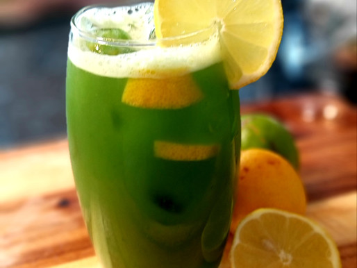 Fresh homemade cucumber juice recipe from chef Ricardo cooking