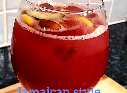 Jamsica Style / cucumber with cranberry juice recipe by chef Ricardo cooking @tvchef