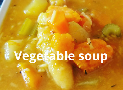 Vegetable soup ♡♡#Chefricardocooking
