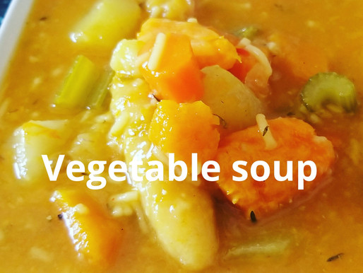 Vegetable soup ♡♡#Chefricardocooking