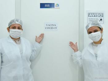 População pode se vacinar contra a covid-19 em 14 postos de saúde da capital