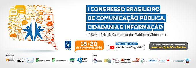 Abertas as inscrições para o Congresso Brasileiro de Comunicação Pública, Cidadania e Informação