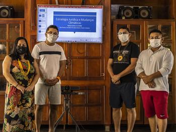 Lideranças participam de oficina de Proteção e  Defesa dos Direitos Humano e Ambientais