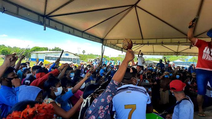 Movimento indígena de Roraima continua mobilizado contra o Marco Temporal
