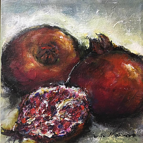 Sonja Margerison - Pomegranates 1
