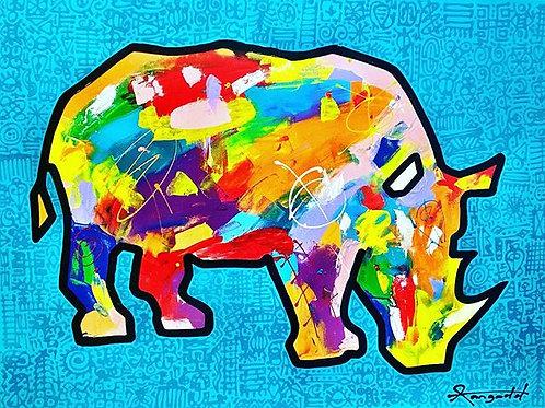 Turquoise Rhino