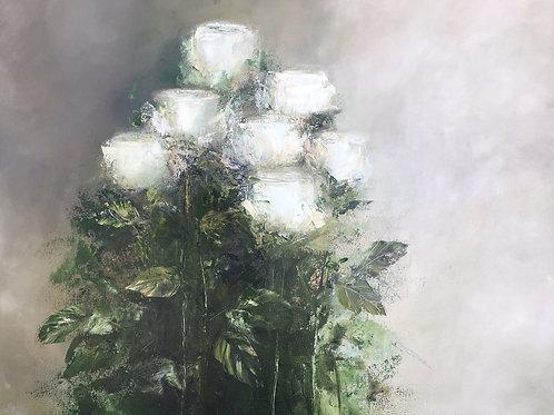 Wilma du Toit - White Roses