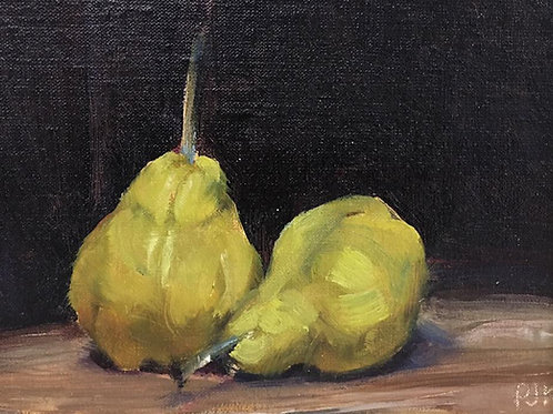 Jacques Krugel - Yellow Pears