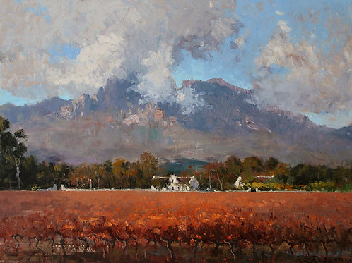 Clouds over Boschendal