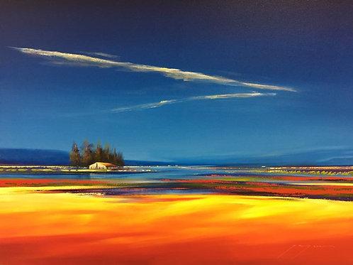 Jacques Krugel - Blue Landscape