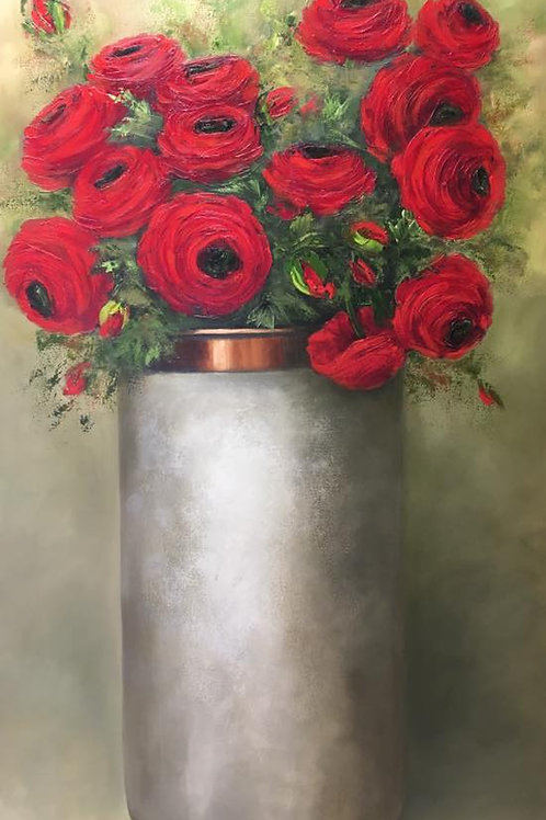 Wilma du Toit - Red Roses