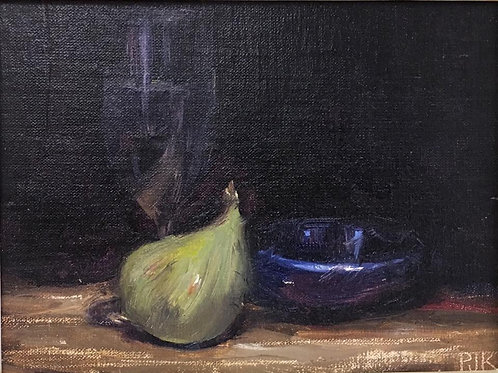 Jacques Krugel - Still Life with fig