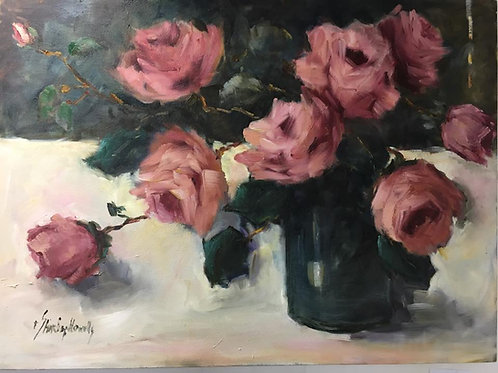 Shirley Howells - Pink Roses