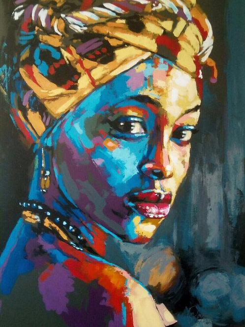 Wakaba Mutheki - Blue Queen