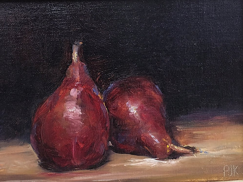 Jacques Krugel - Red Pears