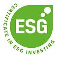 ESG Certificate in ESG investing