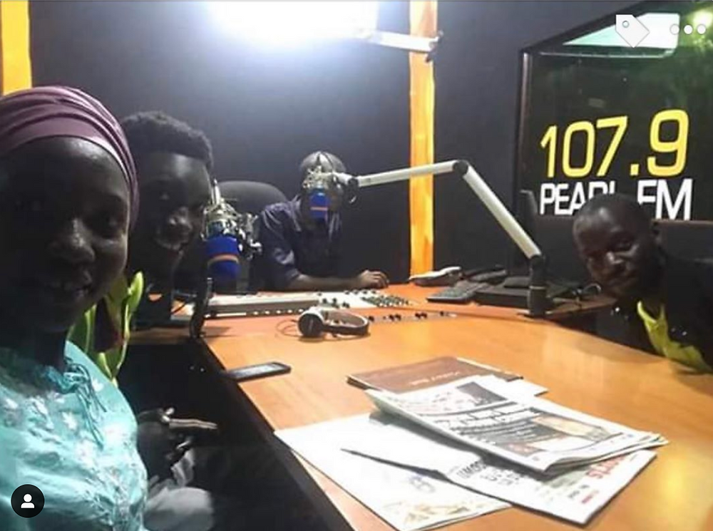 Eco Brixs Student team from Makerere University talk about plastic on Uganda's FM Radio