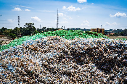 Tonnes of plastic waste at Eco Brixs HQ to be recycled