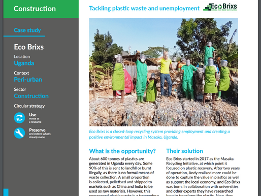 We're featured in Africa's first Circular Economy Report!