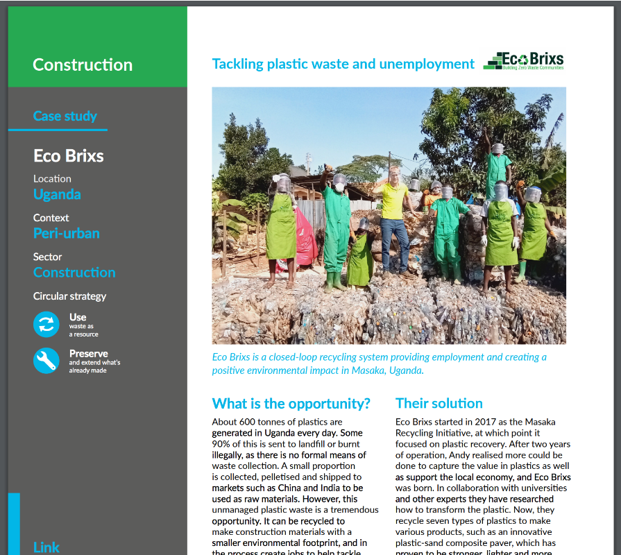 Footprints Africa first report on Circular economy businesses in Africa