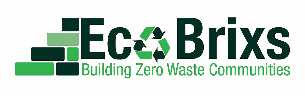 Eco Brixs logo - recycling plastic waste in Uganda