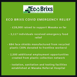 Eco Brixs impact from COVID-19 Relief Programme food hospital programme