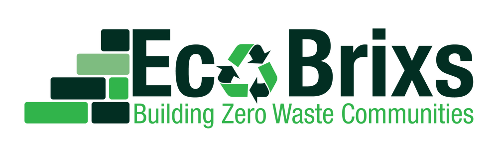 The Eco Brixs Logo Building Zero Waste Communities