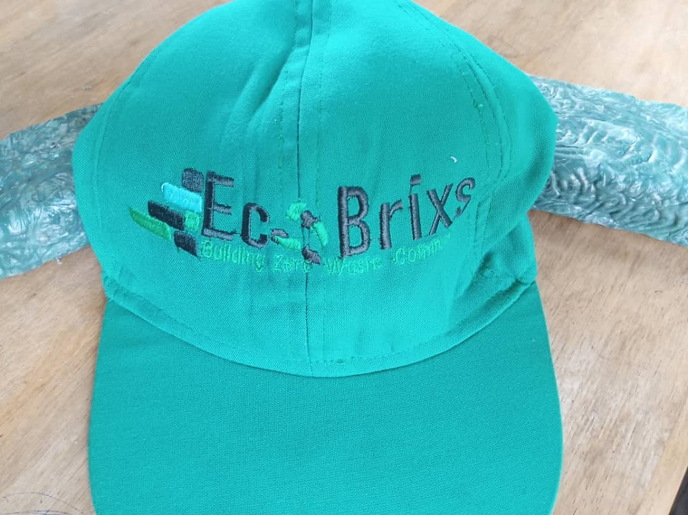 New Eco-Product where the cap of the hat is made from recycled plastic waste