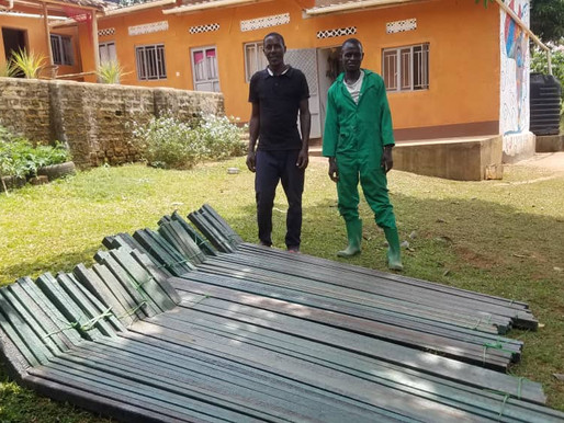 Turning Plastic Waste into more: Fence Posts & Tiles
