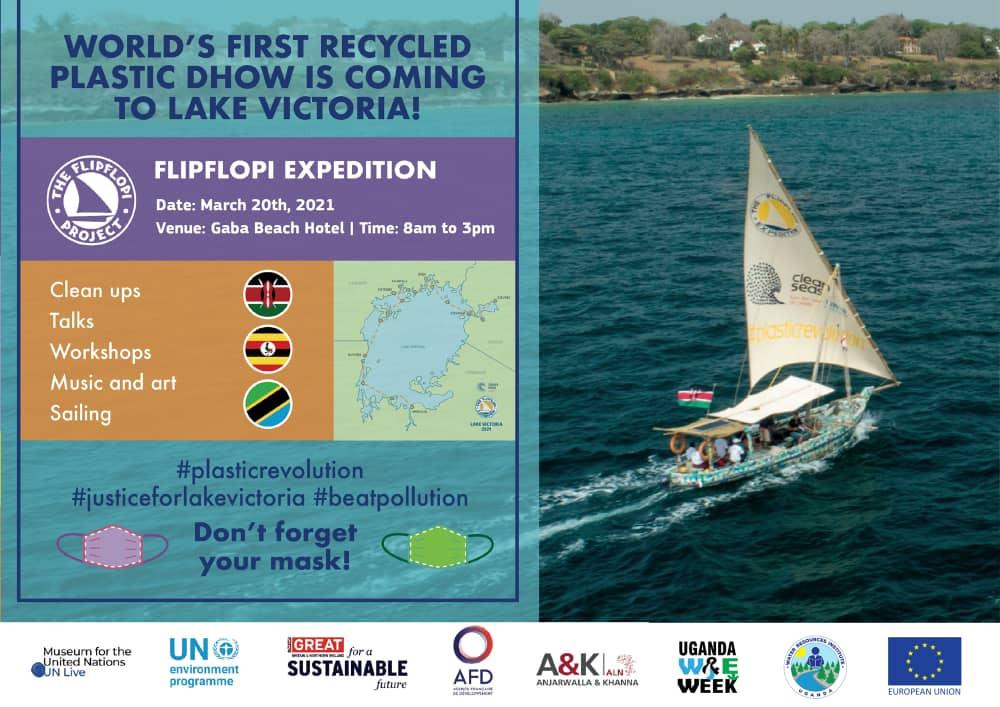 Flip Flopi Expedition in Kampala Uganda at Lake Victoria