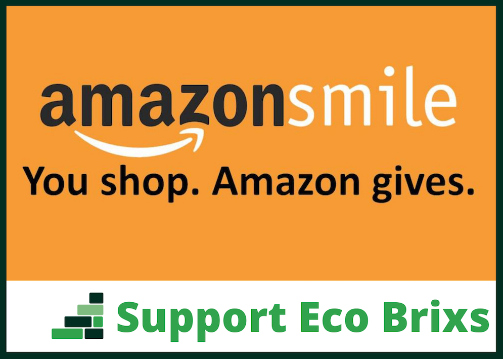 Eco Brixs is registered with Amazong Smile